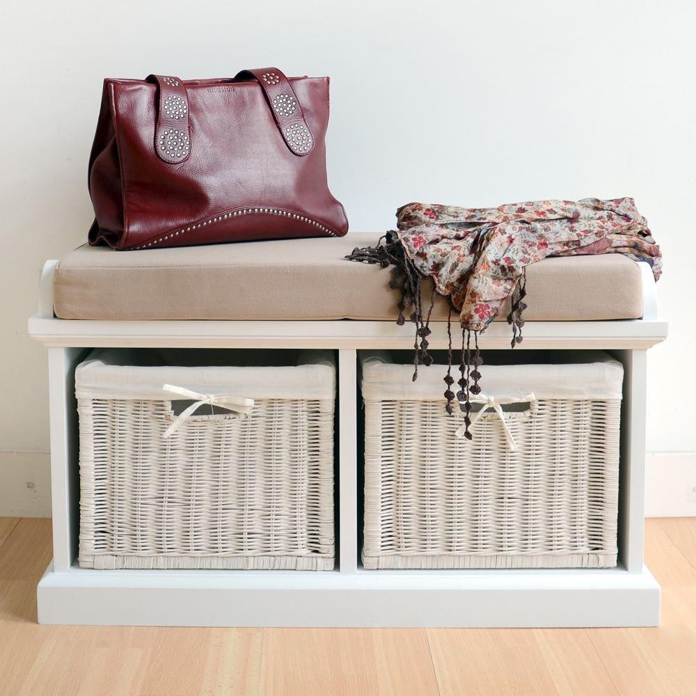 storage cushion black with inspiring white rolling wood bench design dollars info
