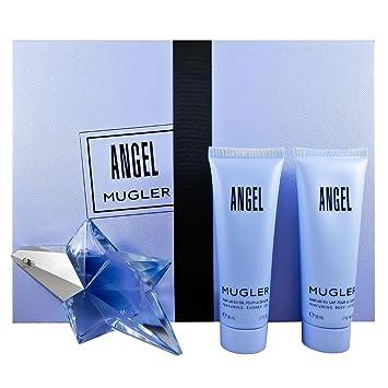a7003f9698e2 Amazon.com   Thierry Mugler 3 Piece Refillable Angel Gift Set Eau de Parfum  Spray for Women   Beauty