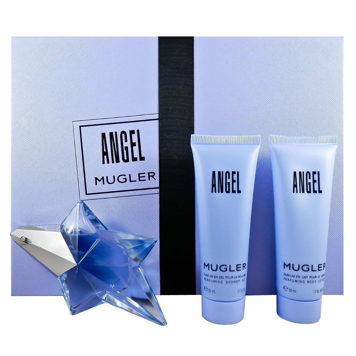 Thierry Mugler 3 Piece Refillable Angel Gift Set Eau de Parfum Spray for Women by Thierry Mugler (Image #1)