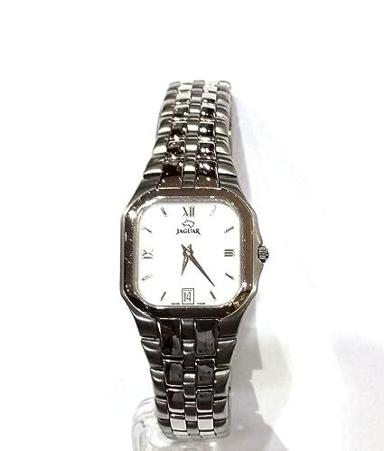 Reloj Jaguar J307/1 extraplano con calendario: Amazon.es: Relojes