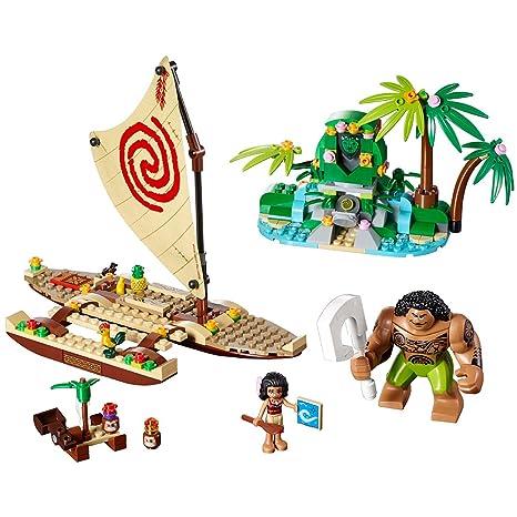 Amazon.com: LEGO Disney Princess Moana's Ocean Voyage 41150 Disney ...