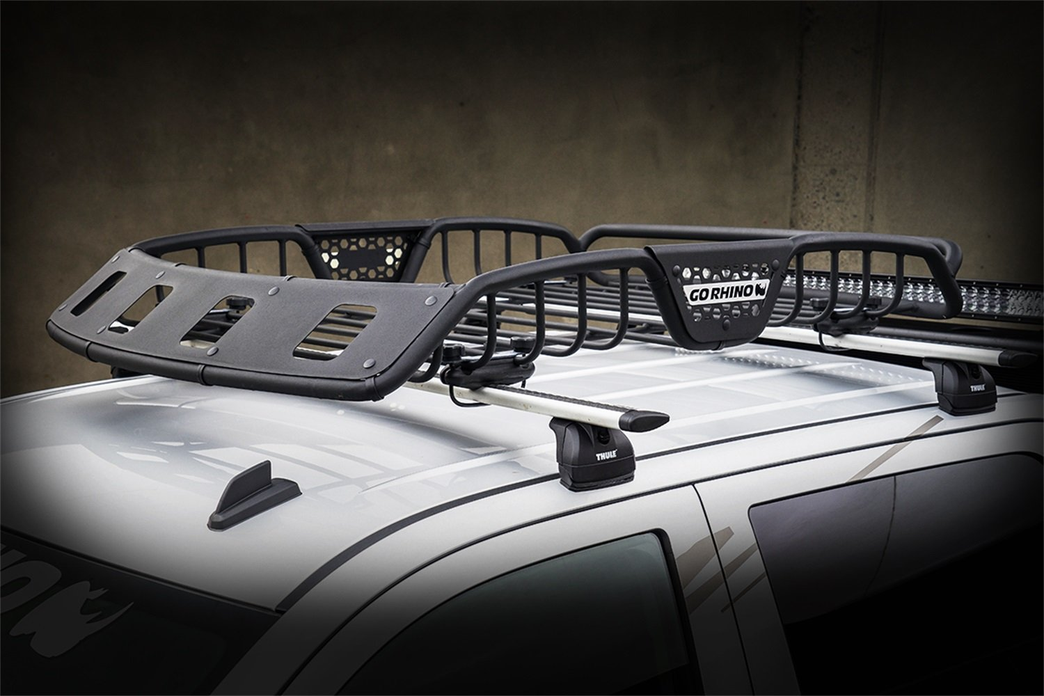 roof tailgate vw withington part rack accessories in rhino transporter car p lwb