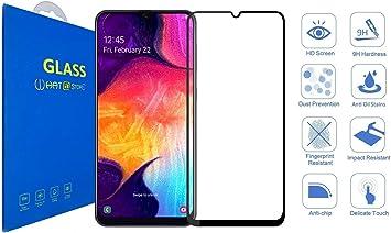 Samsung Galaxy A70 - Cristal Templado Protector de Pantalla [Pegamento Completo] 2.5D Completo Borde a Borde para Samsung Galaxy A70: Amazon.es: Electrónica