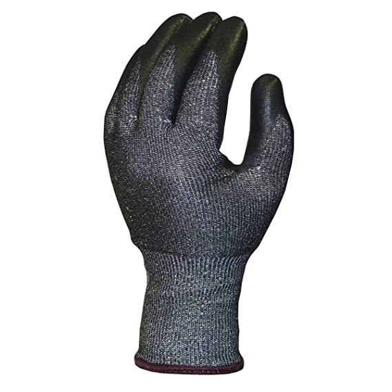 Skytec Ninja Knight découpé de 5 gants-Gris/Noir-Taille XL ...