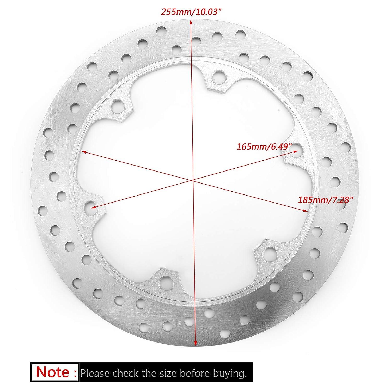 Artudatch Disque de frein avant en acier inoxydable pour moto Hon-da Forza 250 300 NSS250 NSS300 08-17 SH300 07-17