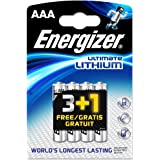 Energizer Ultimate Lithium - Pilas de litio (AAA, L92, 8 unidades)