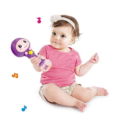 RIANZ All New Imported Colorful Baby Rattle Stick with Amazing Sound (Color as per availability)