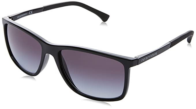 8dfd9583827 Emporio Armani Sunglasses EA4058 5017 8G Black Grey Gradient  Amazon.ca   Luggage   Bags
