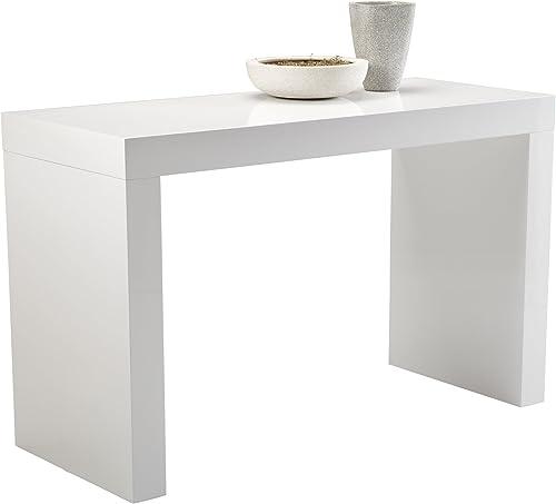 Sunpan Modern Faro C-Shape Counter Table
