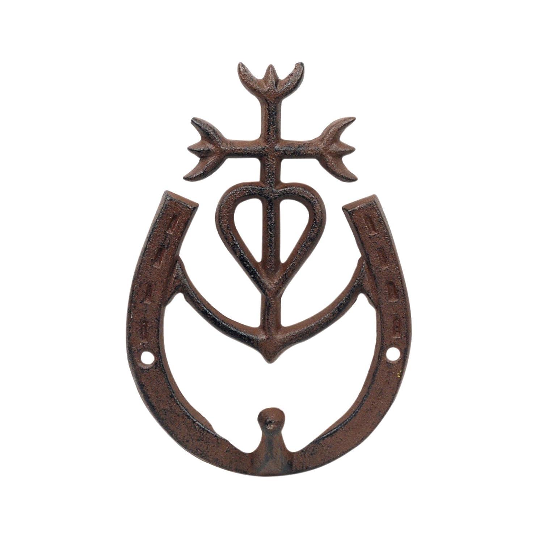 Percha Pared Gamarga Hierro 18 cm Sigris