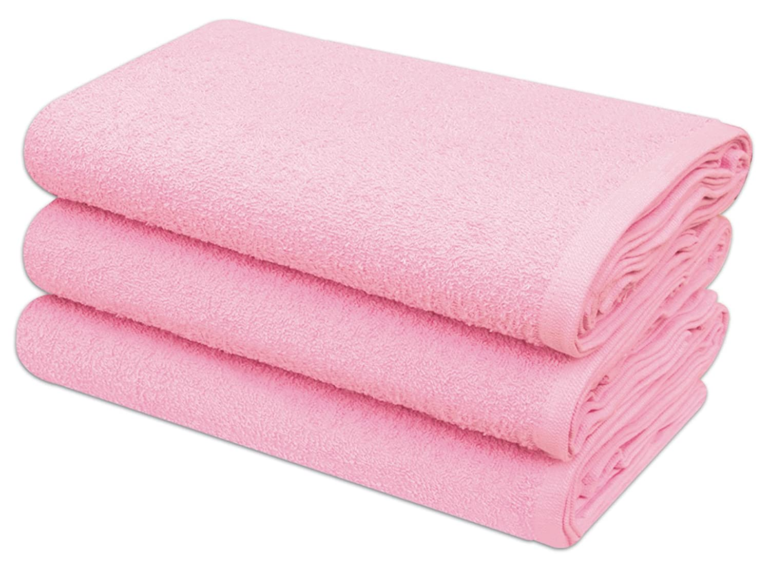 Pack of 12 DARLING Premium Quality Soft Baby Terry Towelling Nappies 100% Cotton (Pink)