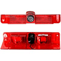 EWAY Third Brake Light Backup Rear View Camera Parking for Chevrolet Express/GMC Savana Vans 2500 3500 2003-2019 Night…