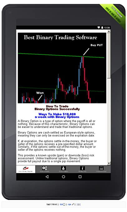 Amazon com: Best Binary Trading Software v2k: Appstore for Android