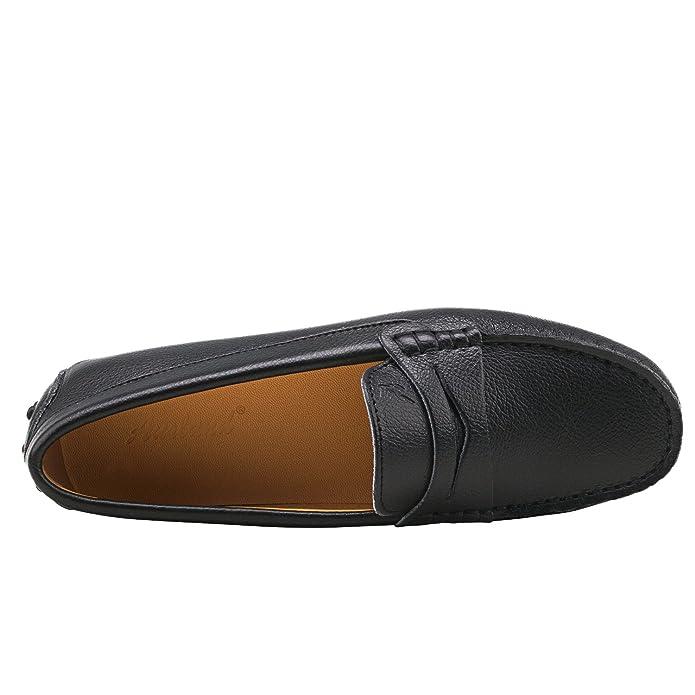 6c070b235405 Shenduo Damen Driving Mokassin Leder Schuhe Casual Slipper Sommer Halbschuhe  Freizeit D7052 Schwarz 38  Amazon.de  Schuhe   Handtaschen