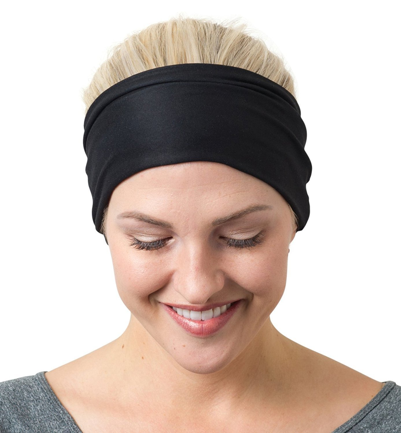 RiptGear Yoga Headbands Women Men - Wide Non Slip Design Headband Running  Yoga Fitness Fashion Other 0df0a8d8bbc