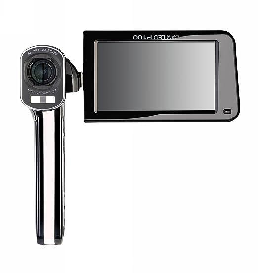 Amazon.com : Toshiba Camileo P100 HD Camcorder With 5x Optical ...