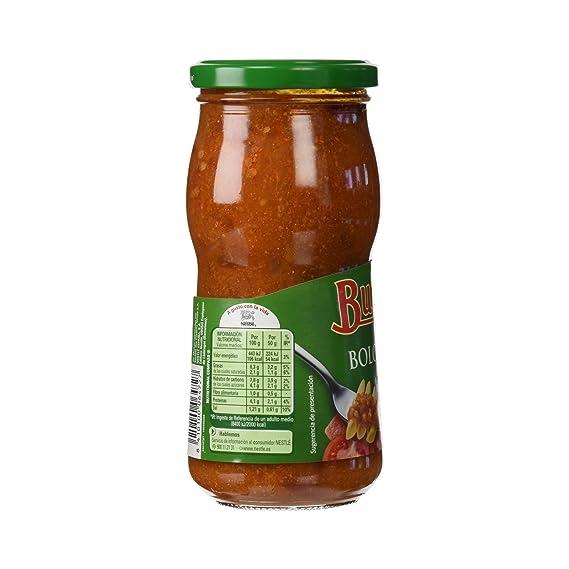 Buitoni Salsa de tomate boloñesa - 400 gr: Amazon.es: Alimentación y bebidas