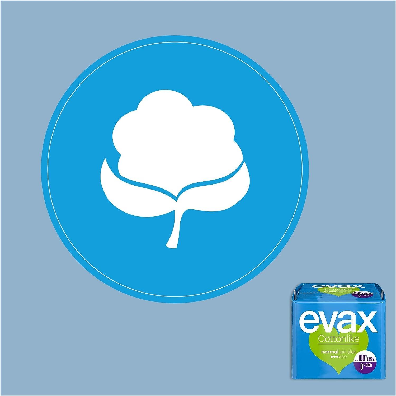 EVAX Cottonlike Lot de 20 serviettes hygi/éniques Normal
