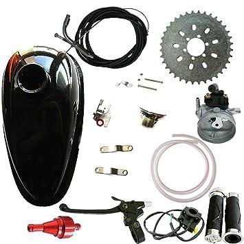 jrl Depósito de aceite depósito & carburador & rojo filtro de aire para 66/80cc