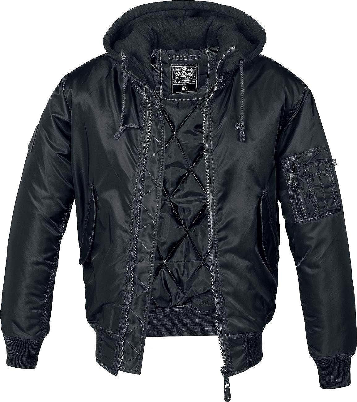 Brandit MA1 Sweathood Chaqueta Negro