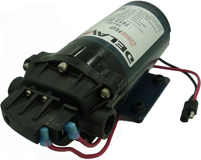 """DELAVAN AG PUMPS 7871-111E-SB-HS Pump,1//2/"""" FNPT,7.0 gpm max.,30A,12VDC"""