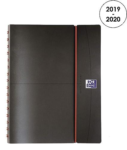 Oxford Office - Agenda (Año 2015 2016), color gris: Amazon ...