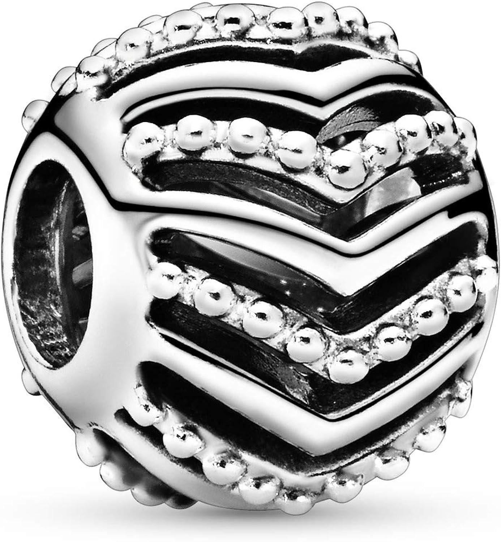 Pandora Jewelry Openwork Wishbone Sterling Silver Charm