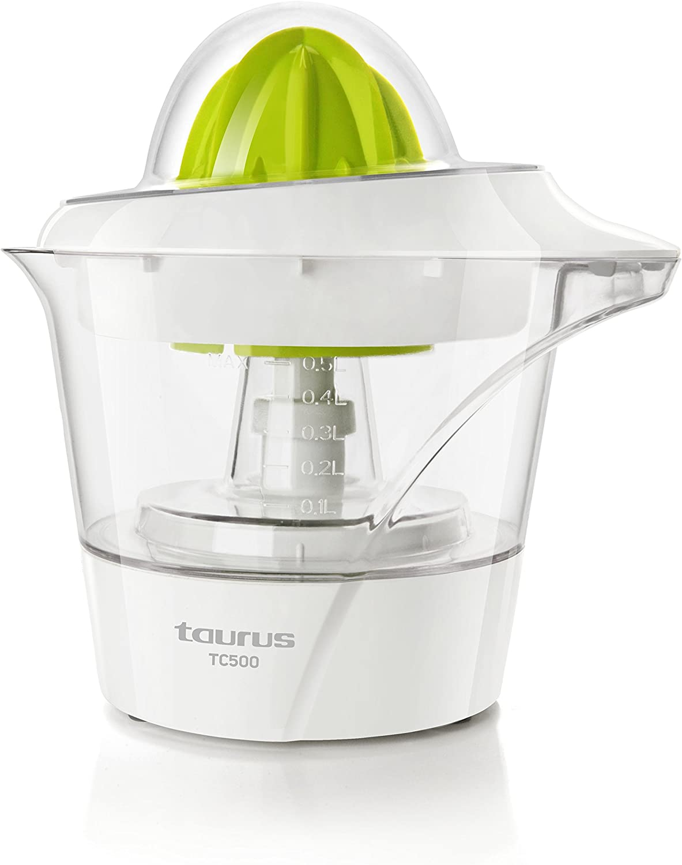 TAURUS TC-500 TC-500-Exprimidor, 2 conos de distintos tamaños ...