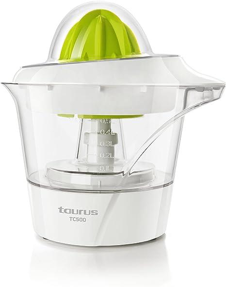 Oferta amazon: Taurus TC-500 TC-500-Exprimidor, 2 conos de distintos tamaños, rotación de doble sentido, 40 W, 0.5 litros, 0 Decibelios           [Clase de eficiencia energética A]