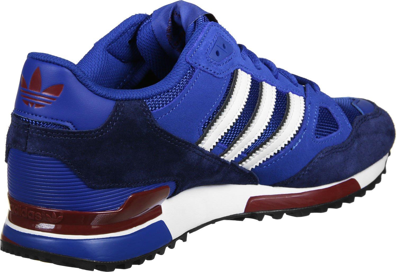 Adidas Hombre ZX 750 Zapatillas para Correr 37 1/3 EU|Azul Blanco