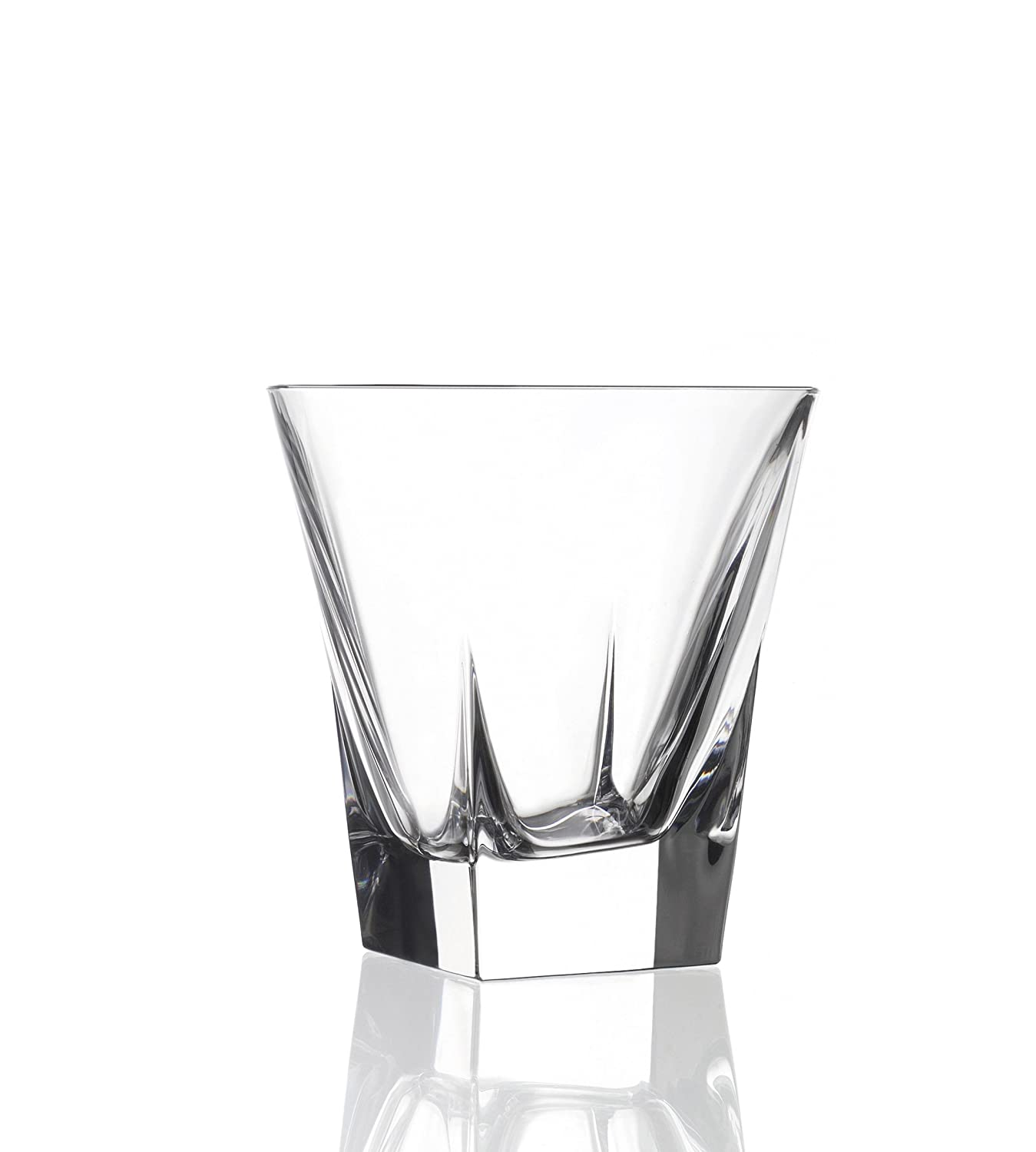 RCR COMBO-1735 Fluente Crystal Set of 6 Whisky Tumblers and Set of 6 Hi-Ball Gla