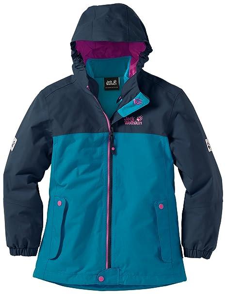 cheap sale detailed images various design Jack Wolfskin Girls Iceland 3-in-1 Jacket