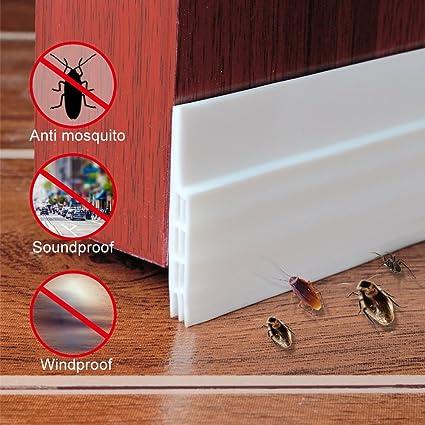 Draft Stopper Under Door Sweep Door Noise Stopper Door Bottom Seal Strip Draft Stopper Anti- & Draft Stopper Under Door Sweep Door Noise Stopper Door Bottom Seal ...