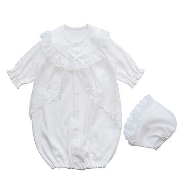 1ec0ef2f6deed 秋冬物 お宮参り 退院時におすすめの厚手素材 お帽子付き新生児ベビードレス