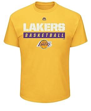 VF LSG Hombres de la NBA Proven pasatiempo Camiseta de Manga Corta Cuello Redondo, NBA