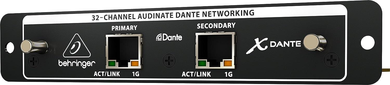 Amazon com: Behringer X-Dante High-Performance 32-Channel