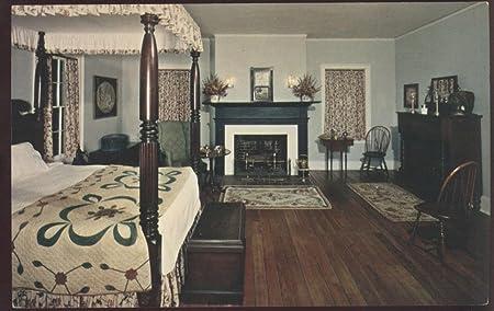 Amazon Com Interior Daniel Bissell House Master Bedroom Fireplace General Missouri Postcard Everything Else