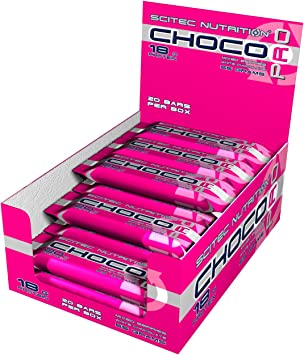 Scitec Nutrition Choco Pro barrita de chocolate de proteína ...