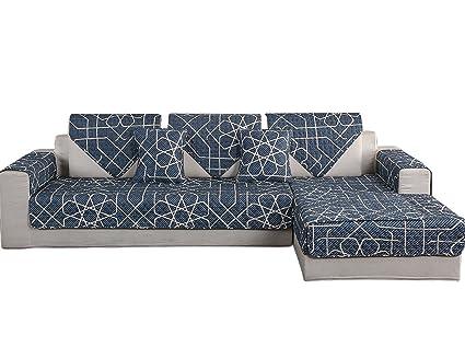 Cool Amazon Com Hotniu 1 Piece Non Slip Quilted Sectional Sofa Machost Co Dining Chair Design Ideas Machostcouk