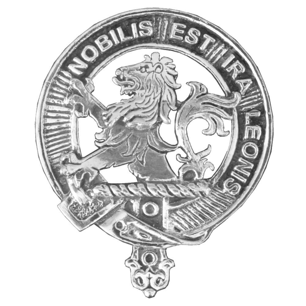 Stuart Scottish Clan Crest Badge