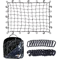 $24 » 3'x4' Super Duty Cargo Net, Bungee Net Stretches to 6'x8' for Oversized Rooftop…