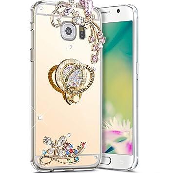 Robinsoni Funda Compatible con Samsung Galaxy S6 Funda ...