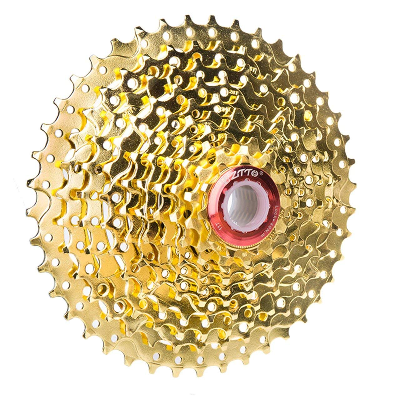 Dooret Bici de montañ a Plegable 11-42T Volantes de Bicicletas de 10 velocidades Tipo de Tarjeta del Volante