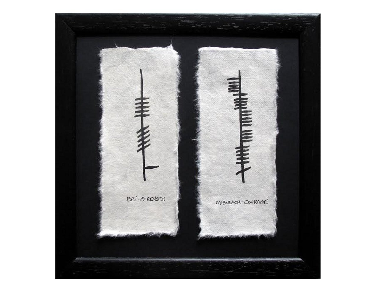 Amazon Irish Blessing Ogham Strength Courage Made In Ireland