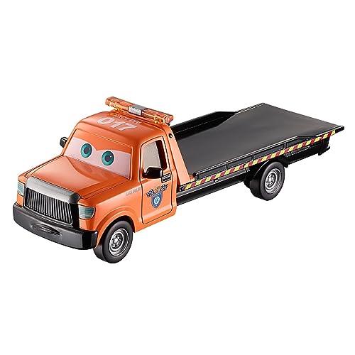 Disney Pixar Cars Cars 3-Mega Vehicule Flat Bed Truck, FGD93