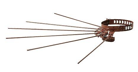 Tendedero Tendedero Marrón Tubo Estufa de Diam 10 A 15 Leña pelletes Fer 345