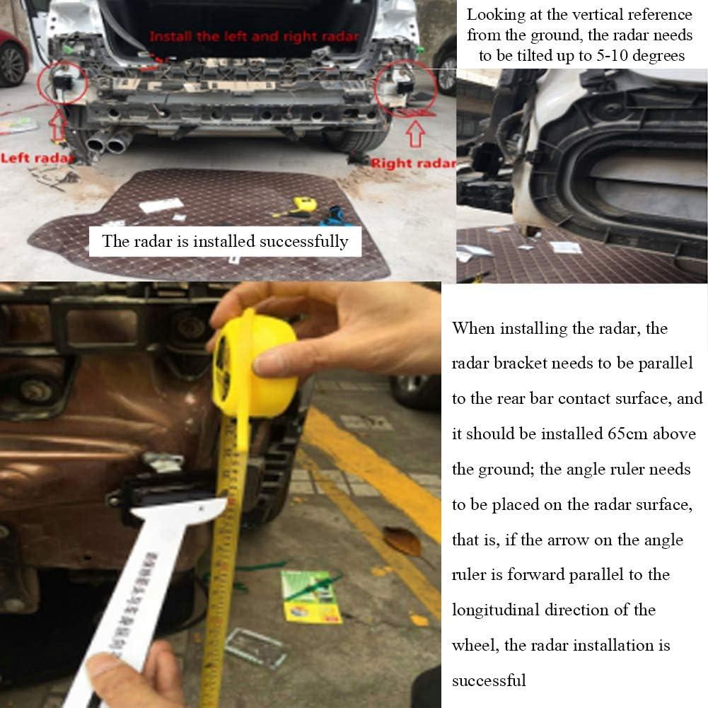 Suuonee Blind Spot Detection System Car Microwave Radar Sensor BSD Blind Spot Detection System Fit for Hyundai Tucson 2015-2018
