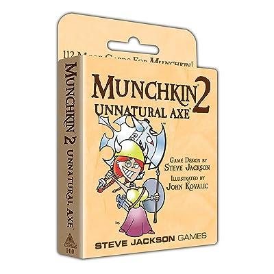 Munchkin 2 - Unnatural Axe: Toys & Games