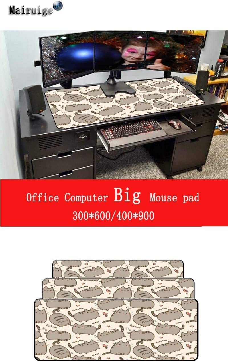 Color : 400X900X4MM SHANDIAN 90X40CM Gaming Mouse Pad Player Lock Edge Keyboard Mouse Pad Gaming Table Mouse Pad