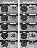Energizer CR2032 3 Volt Lithium Coin Battery 10